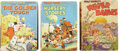Books:Children's Books, Three Large 1930s Disney Story Books,... (Total: 3 Items)