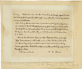Autographs:U.S. Presidents, John Quincy Adams Autograph Document Signed Twice as Congressman. ...