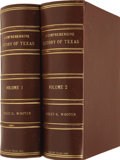 Books:First Editions, Dudley G. Wooten, editor. A Comprehensive History of Texas1685-1897.. ... (Total: 2 Items)