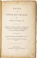 Books:Early Printing, Bryant P. Tilden, Jr. Notes on the Upper Rio Grande....