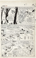 Original Comic Art:Panel Pages, Jack Kirby, Werner Roth, and Dick Ayers - X-Men #17, page 15Original Art (Marvel, 1966)....