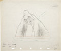 "Animation Art:Production Drawing, ""Snow White and the Seven Dwarfs"" Animation Production DrawingOriginal Art (Disney, 1937)...."