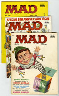 Magazines:Mad, Mad #33, 35, and 36 Group (EC, 1957).... (Total: 3)