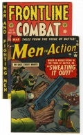 Golden Age (1938-1955):War, Miscellaneous Golden Age War Group (Various Publishers,1952-57).... (Total: 2)