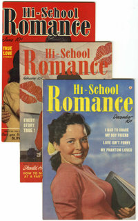 Hi-School Romance File Copies Group (Harvey, 1949-58) Condition: Average VF/NM.... (Total: 74 Comic Books)