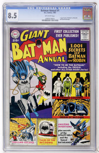 Batman Annual #1 (DC, 1961) CGC VF+ 8.5 Off-white pages