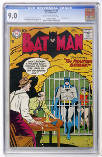 Batman #110 (DC, 1957) CGC VF/NM 9.0 Off-white to white pages
