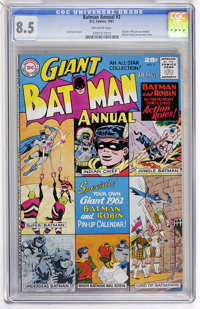 Batman Annual #2 (DC, 1961) CGC VF+ 8.5 Off-white pages