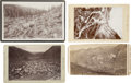 Western Expansion:Goldrush, Lot of Four Cabinet Card Photographs, Colorado ca 1890s - ... (Total: 4 Items)