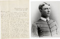 Military & Patriotic:Indian Wars, Cavalry Officers Letter Fort Robinson, Nebraska 1888 - ... (Total: 2 Items)