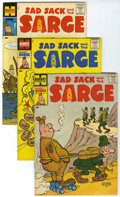 Silver Age (1956-1969):Humor, Sad Sack and the Sarge File Copies Box Lot (Harvey, 1957-82) Condition: Average VF/NM.... (Total: 152 Comic Books)