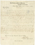 Military & Patriotic:Civil War, Expedition Order: Headquarters, District of Minnesota, Department of the North,...