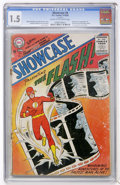 Silver Age (1956-1969):Superhero, Showcase #4 The Flash (DC, 1956) CGC FR/GD 1.5 Cream to off-white pages....