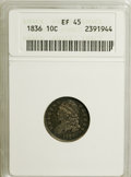 Bust Dimes: , 1836 10C XF45 ANACS. NGC Census: (6/151). PCGS Population (10/128).Mintage: 1,190,000. Numismedia Wsl. Price for NGC/PCGS ...