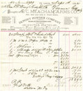 Western Expansion:Cowboy, Invoice from E. C. Meacham Arms Co. of St. Louis,...