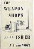 Books:First Editions, A. E. van Vogt. The Weapon Shops of Isher....