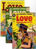 Golden Age (1938-1955):Romance, True Love Problems and Advice Illustrated File Copies Group(Harvey, 1949-58) Condition: Average VF+.... (Total: 45 ComicBooks)