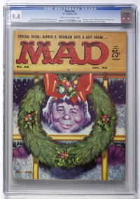 Mad #44 (EC, 1959) CGC NM 9.4 Cream to off-white pages