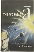 Books:First Editions, A. E. van Vogt. The World of A....