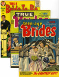 Golden Age (1938-1955):Romance, True Brides' Experiences and Others File Copies Group (Harvey, 1954-58) Condition: Average VF/NM.... (Total: 21 Comic Books)