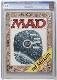 Mad #26 (EC, 1955) CGC NM 9.4 Cream to off-white pages