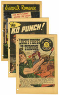 "Golden Age (1938-1955):Science Fiction, EC and Other ""VD""-Related Promotional Comics Group (1948-50)Condition: Qualified VF/NM.... (Total: 3 Comic Books)"