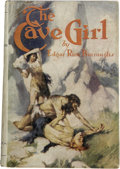 Books:First Editions, Edgar Rice Burroughs. The Cave Girl. Chicago: A. C. McClurg& Co., 1925.. ...