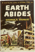 Books:First Editions, George R. Stewart. Earth Abides. New York: Random House,Inc., 1949.. ...