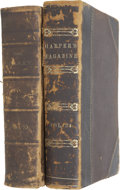 Books:First Editions, Mark Twain Content in Galaxy and Harper &Brothers Bound Volumes.... (Total: 2 Items)