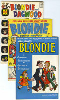 Golden Age (1938-1955):Humor, Blondie Comics File Copies Box Lot (Harvey, 1950-65) Condition: Average VF/NM.... (Total: 135 Comic Books)