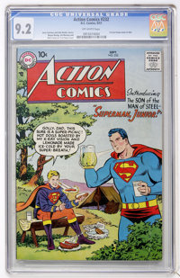 Action Comics #232 (DC, 1957) CGC NM- 9.2 Off-white pages