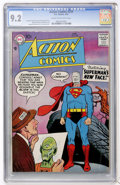 Silver Age (1956-1969):Superhero, Action Comics #239 (DC, 1958) CGC NM- 9.2 Cream to off-white pages....