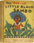 Books:Children's Books, The Story of Little Black Sambo Pop-up Book. New York: BlueRibbon Press, 1934. . ...
