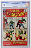 Silver Age (1956-1969):Superhero, The Amazing Spider-Man #4 (Marvel, 1963) CGC VF/NM 9.0 Whitepages....