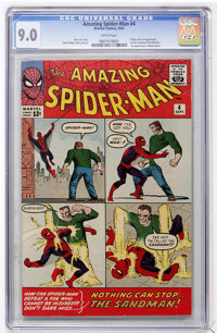 The Amazing Spider-Man #4 (Marvel, 1963) CGC VF/NM 9.0 White pages