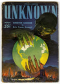 Pulps:Horror, Unknown/Unknown Worlds Group (Street & Smith, 1939-43)Condition: Average VG....