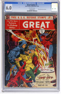 Golden Age (1938-1955):Science Fiction, Great Comics #3 (Great Comics Publications, 1942) CGC FN 6.0Off-white pages....