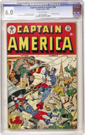Golden Age (1938-1955):Superhero, Captain America Comics #50 (Timely, 1945) CGC FN 6.0 Off-white pages....