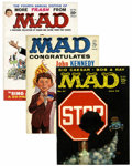 Magazines:Mad, Mad Group (EC, 1959-68) Condition: Average VF unless otherwisenoted.... (Total: 27 Items)