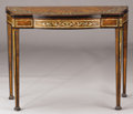 Furniture : Continental, A CONTINENTAL INLAID ROSEWOOD AND WALNUT FLIP-TOP CARD TABLE. Early20th Century. 29-1/2 x 38 x 17-1/2 inches (74.9 x 96.5 x...