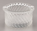 Art Glass:Lalique, A FRENCH GLASS ASHTRAY. René Lalique, Paris, Mid 20th Century.Marks: Lalique France. 4-1/4 inches (10.8 cm) diameter. ...