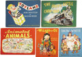 Books:Children's Books, Five Movable Books Animated by Julian Wehr, including: ... (Total:5 Items)
