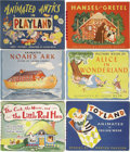 Books:Children's Books, Six Children's Movable Books With Animations by Julian Wehr,...(Total: 6 Items)