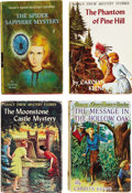 Books:Children's Books, Carolyn Keene. Four English First Edition Nancy Drew MysteryStories,... (Total: 4 Items)