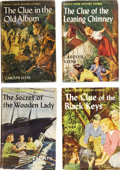 Books:Children's Books, Carolyn Keene. Four Nancy Drew Mystery Stories First Editions,...(Total: 4 Items)