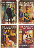 Books:Children's Books, Margaret Sutton. Four Judy Bolton Mystery Series First EditionsNumbers 12 Through 15,... (Total: 4 Items)