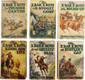 Books:Children's Books, James Cody Ferris. Collection of Six X Bar X Boys Series Books,...(Total: 6 Items)