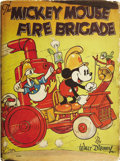 Books:Children's Books, Walt Disney. The Mickey Mouse Fire Brigade. Racine: WhitmanPublishing Co., [no date]. . ...
