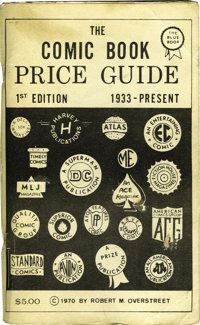Overstreet Price Guide #1 First Printing (Bob Overstreet, 1970) Condition: FN-