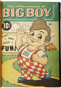 Adventures of The Big Boy #1-233 Bound Volumes (Illustrated Features Corp. 1956-76)
